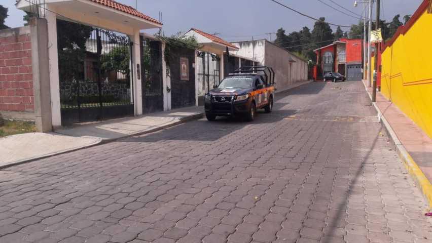 Alistan sanitización en comunidades de Totolac