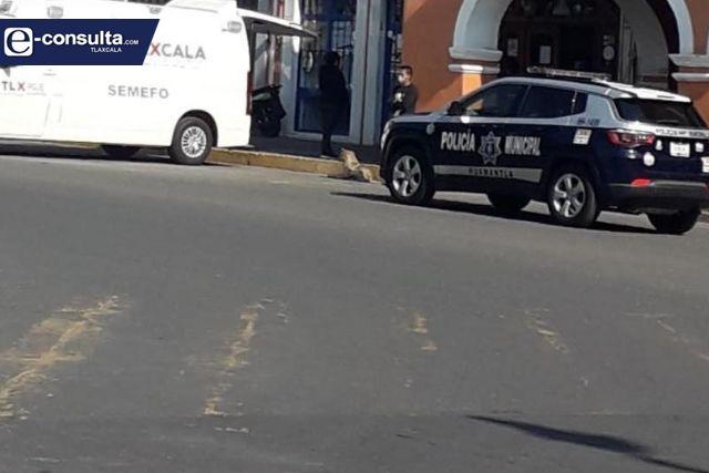 Transportista muere al interior de un hotel en Huamantla