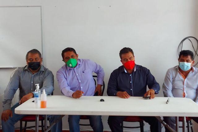 Morena, PRI, MC y PT dispuestos a quitarle el triunfo al PANAL en SPM