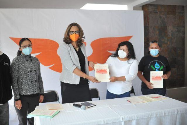 La trata y la contaminación son temas que le duelen a Tlaxcala: Eréndira Jiménez