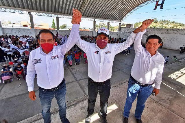 Caballero Yonca reafirma su compromiso en Ignacio Zaragoza
