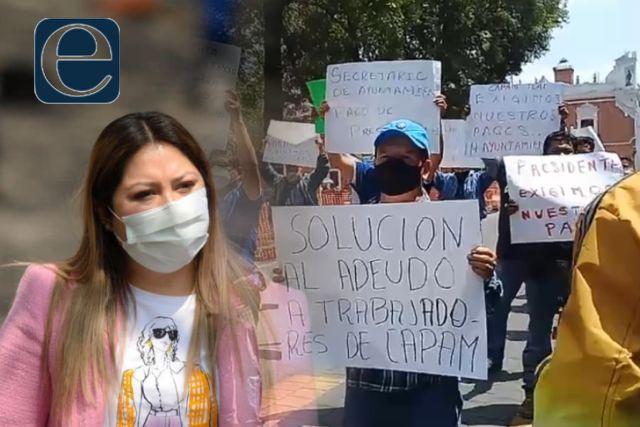 Mildred transa y corrupta; el municipio de Tlaxcala está en quiebra