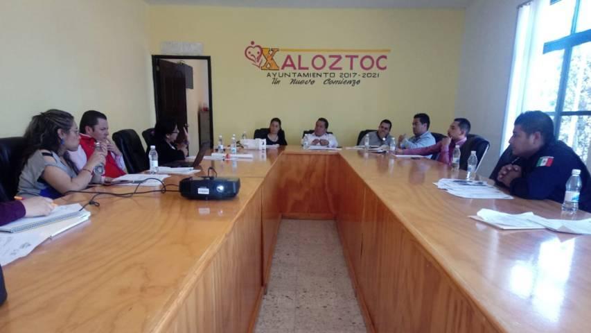 Mario López encabezo el 2do consejo de seguridad municipal