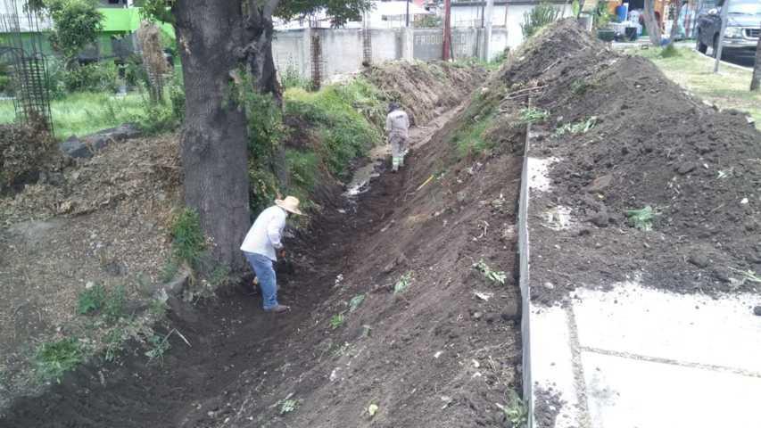 Se mantiene imagen urbana de Totolac con jornadas de limpieza