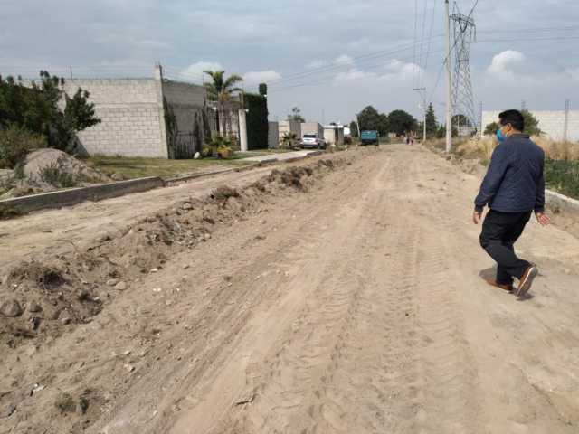 Ayuntamiento de SPM inicia obras en la Calle Cuauhtémoc y Prolongación Francisco I. Madero