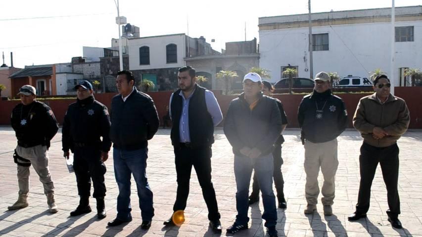 Rivera Mora refuerza la seguridad en estas fiestas decembrinas