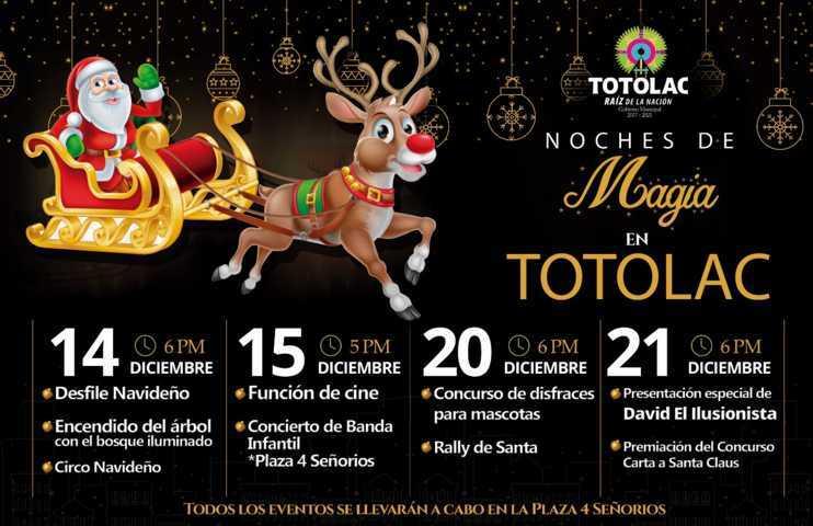 Llega del 14 al 21 Noches de Magia a impulsar las tradiciones navideñas: alcalde