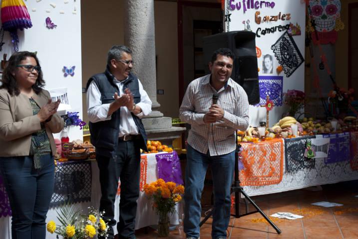 Adultos mayores participaron en concurso de ofrendas