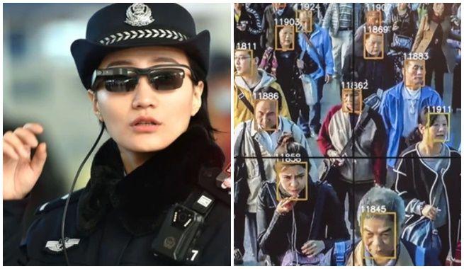 Inventan gafas Chinas para reconocimiento facial de delincuentes