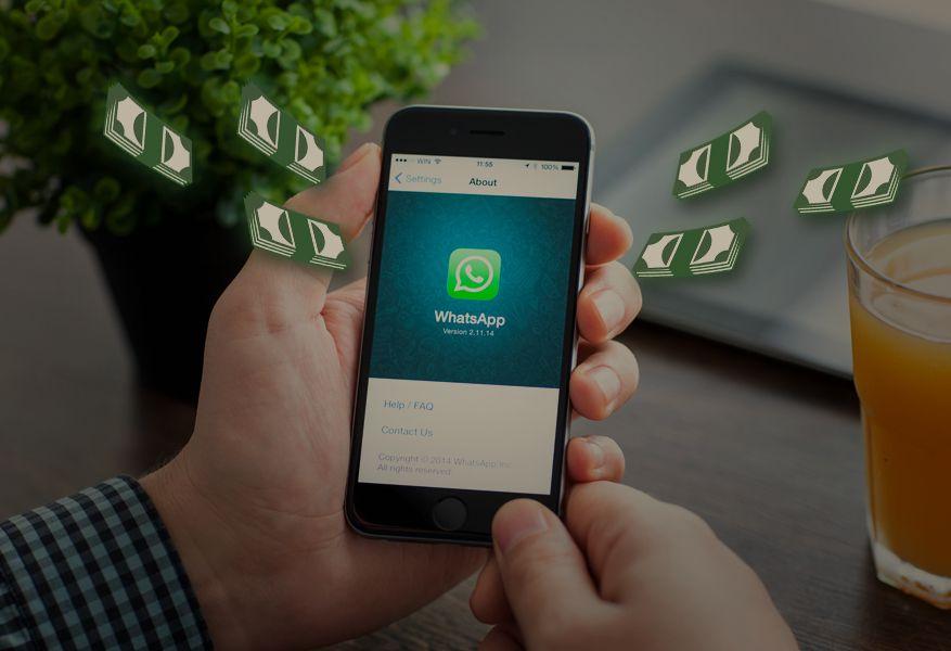 Con Santander Tap  te permitirá enviar dinero dinero a través de WhatsApp