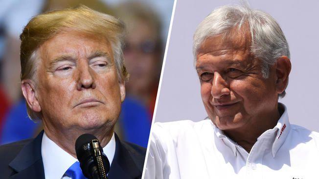 Trump está dispuesto a invertir en Tren Maya: AMLO