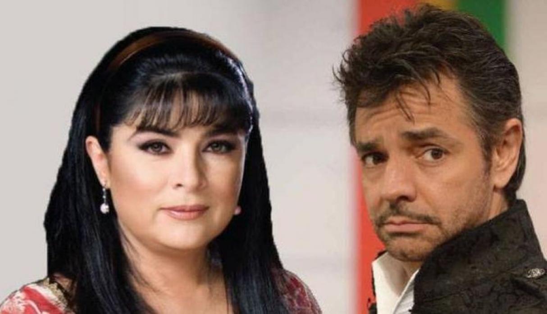 Eugenio Derbez pone sobre apodo a Victoria Ruffo