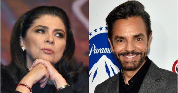 Así respondió Victoria Ruffo a Eugenio Derbez a su apodo