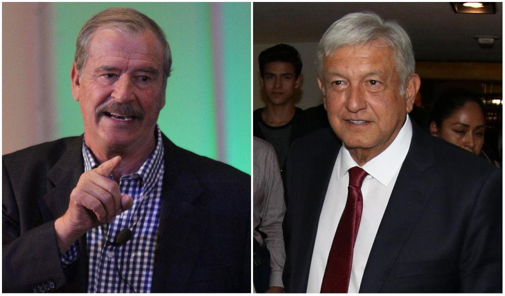 Fox acusa AMLO de perder el piso ante mudanza a Palacio Nacional