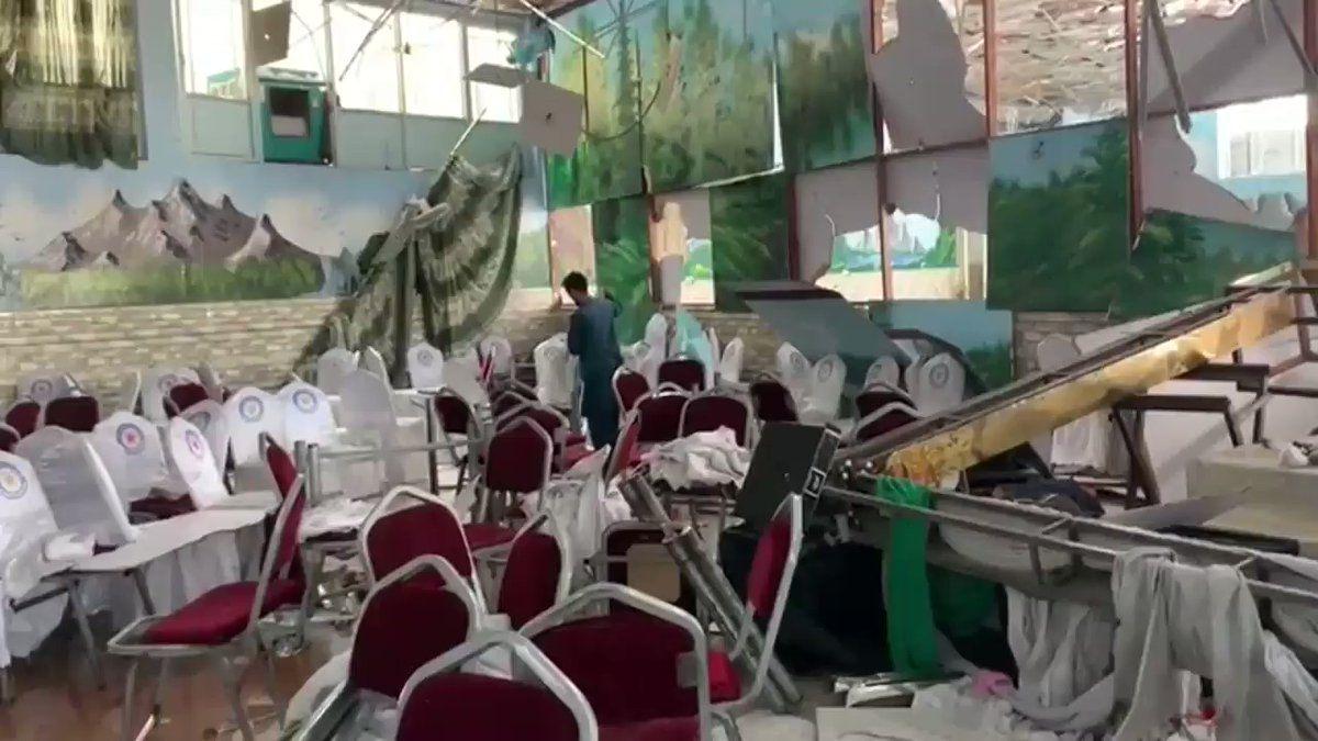 Ataque terrorista deja 63 muertos y 180 heridos en Kabul