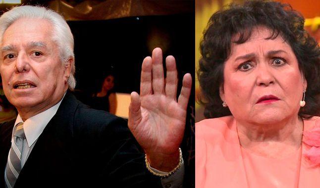 Enrique Guzmán arremete contra Carmen Salinas por meterse con su nieta