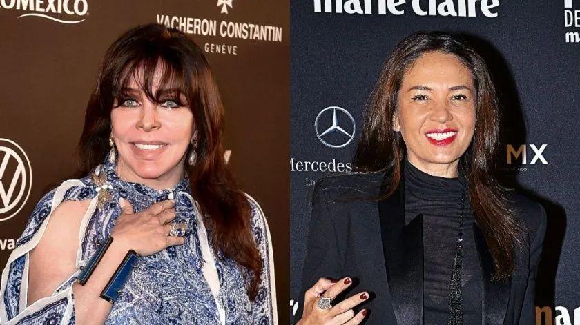 Confirman que Yolanda Andrade y Verónica Castro si se casaron