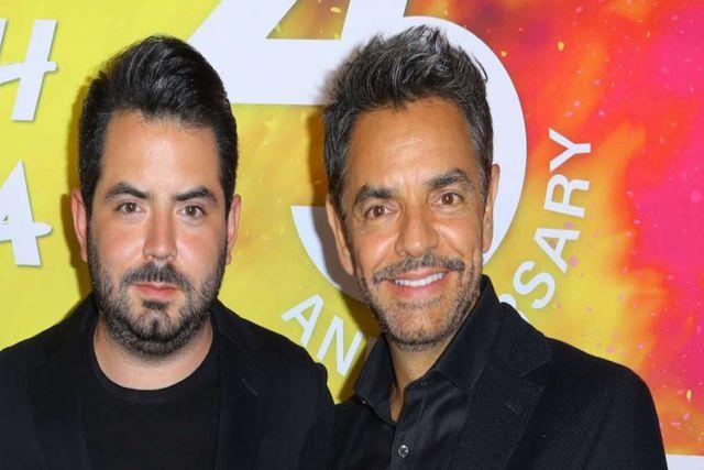 Eugenio Derbez se burla de su propio hijo y culpa a su mamá Victoria Ruffo