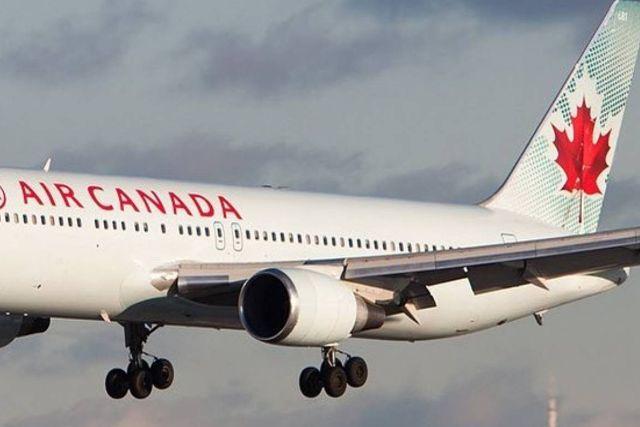 Avión canadiense perdió rueda y aterrizó de emergencia tras casi cuatro horas
