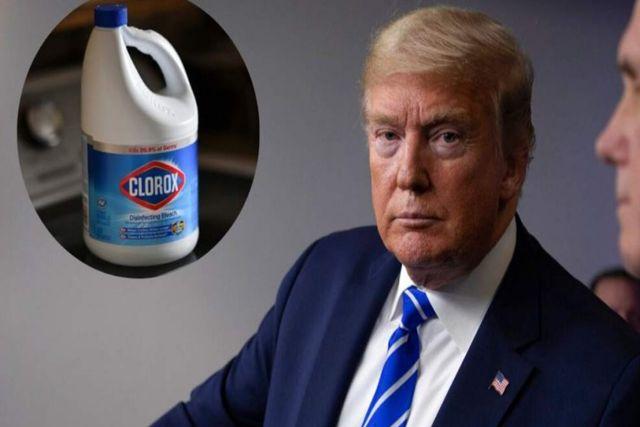 Se burlan de Donald Trump tras declaraciones sobre el uso de desinfectantes