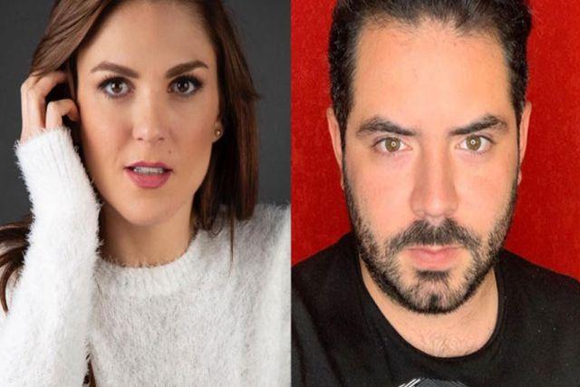 La actriz Zoraida Gómez se apoya de José Eduardo Derbez a unos días de dar a luz