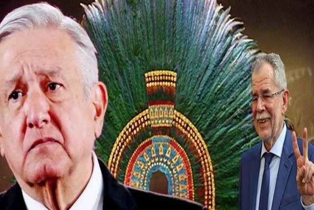 Austria responde a AMLO al decir que el Penacho de Moctezuma no se moverá en 10 años
