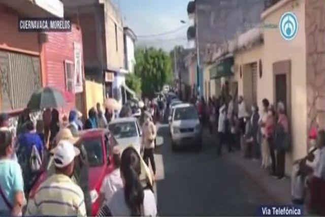 Municipio de Cuernavaca eleva a 75 años la edad por falta de vacunas vs Covid-19