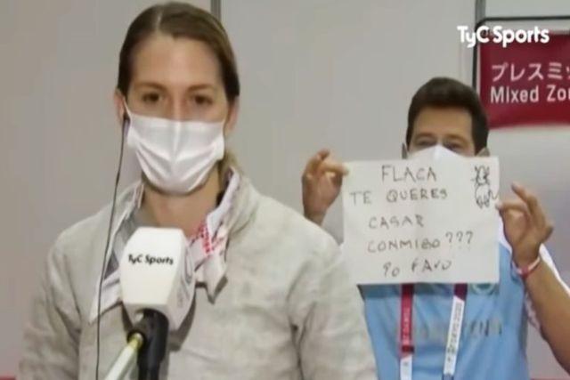 Esguimista recibe propuesta de matrimonio por parte del entrenador en Tokio 2020