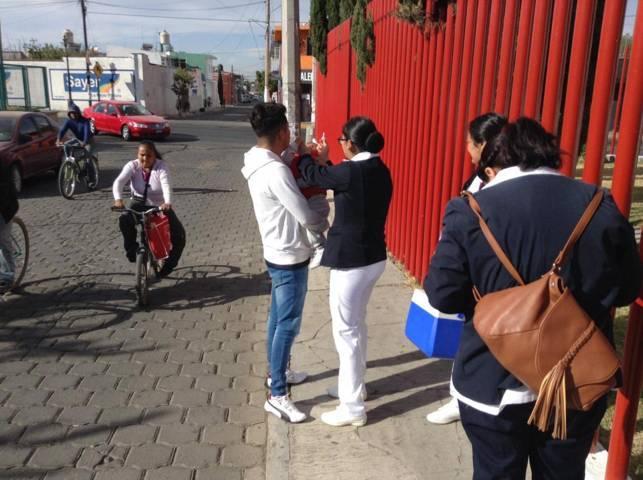 Se une Xicohtzinco a la Semana Nacional de Vacunación
