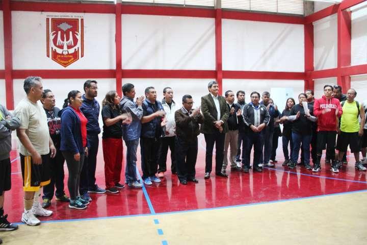 Se efectuaron los juegos deportivos del Sindicato de Trabajadores de la UAT