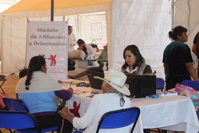 """Con gran éxito se realizó en Tepetitla la """"Jornada por la Salud en tu Comunidad"""""""