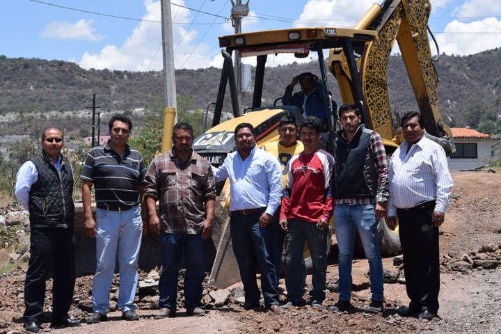 El mantenimiento a nuestros caminos es una prioridad: Eymard Grande