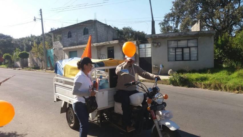 Las Brigadas ciudadanas inundan Tetlanohcan: Refugio Rivas