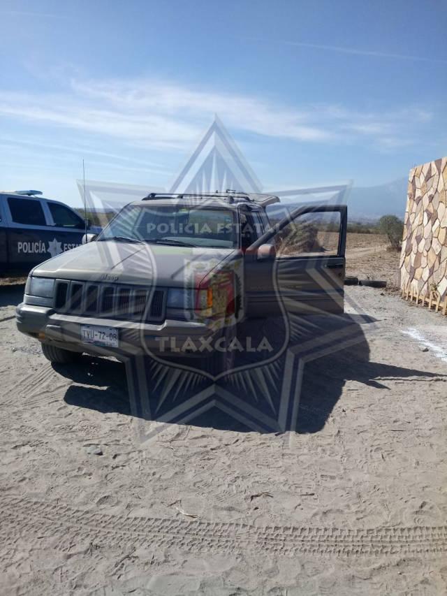 Frustran policías estatales intento de trobo a tren en Huamantla