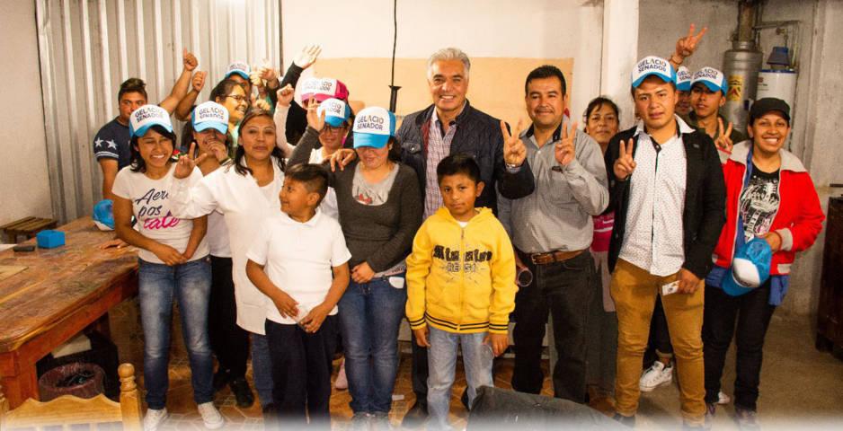Legislará Gelacio Montiel Fuentes para impulsar empleo para jóvenes