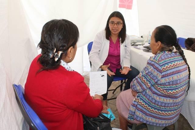 Gobierno Municipal de Tepetitla y fundación RIAN  realizan Jornada Médica