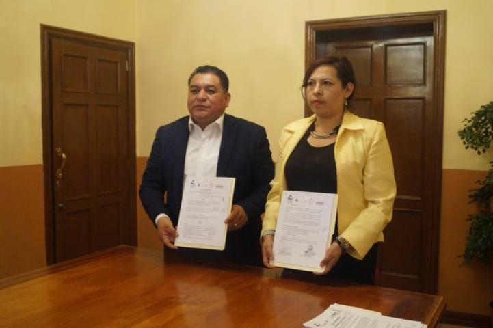 Signan convenio Canaco Chiautempan y Apetatitlán para impulsar negocios
