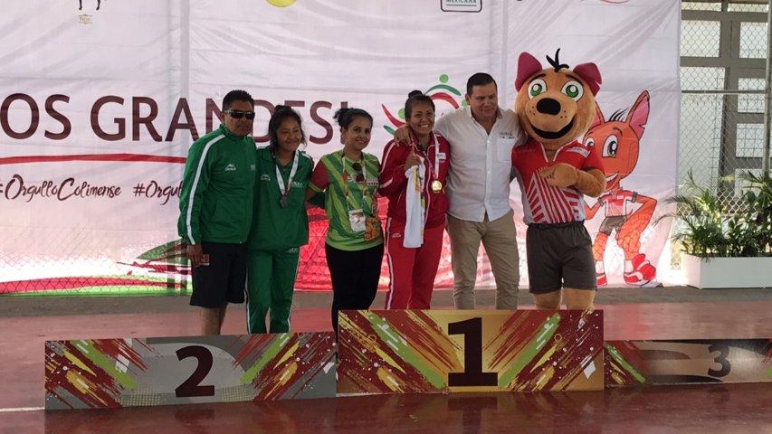 Sigue la cosecha de medallas para Tlaxcala en la Paralimpiada Nacional