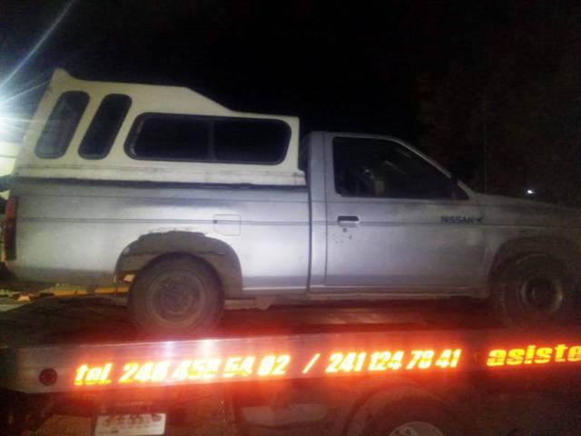 Se recuperaron tres plataformas y tres vehículos con reporte de robo