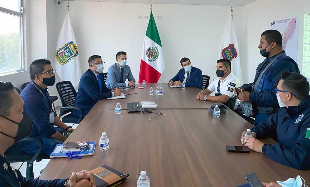 Tlaxcala y Puebla realizan acciones contra el delito de robo de vehículos y autopartes