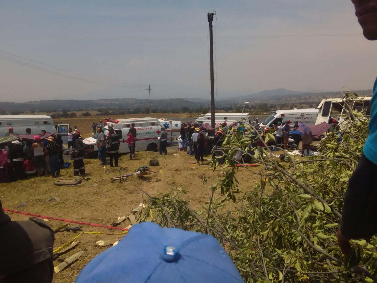 Nueva tragedia se suscita en la carretera al santuario de Texocuixpan