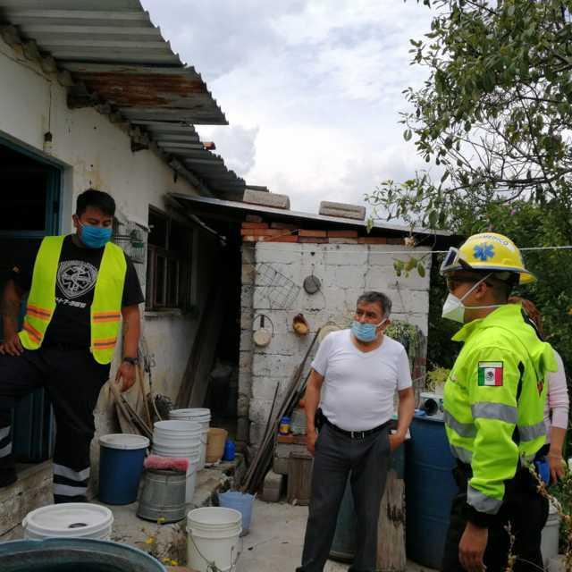 Ante lluvias inician acciones y campaña preventiva en Totolac
