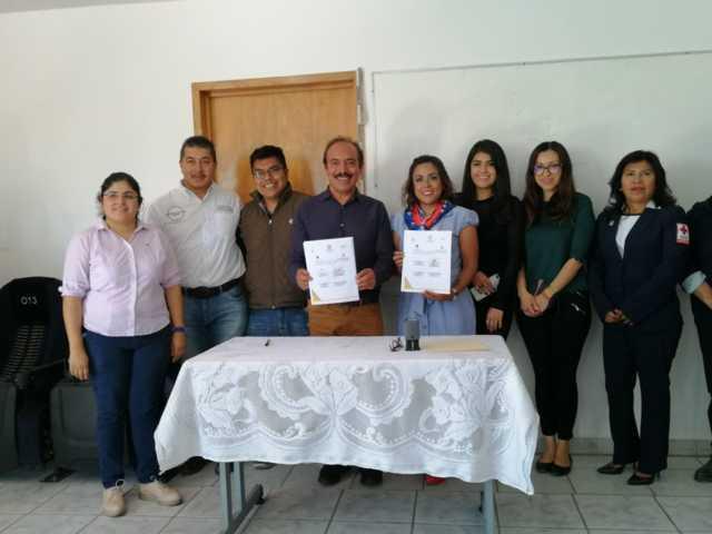 Cruz Roja y el ayuntamiento de Zacatelco comprometen trabajo conjunto