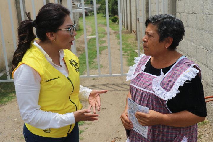 Generan eco entre la población las propuestas de Alejandra Ramírez