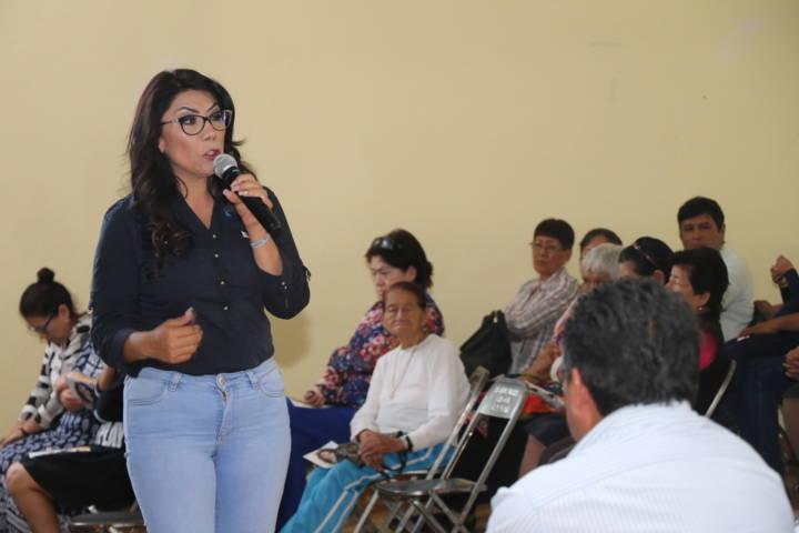 Alejandra Ramírez: mi compromiso es con la política que dé bienestar a los tlaxcaltecas