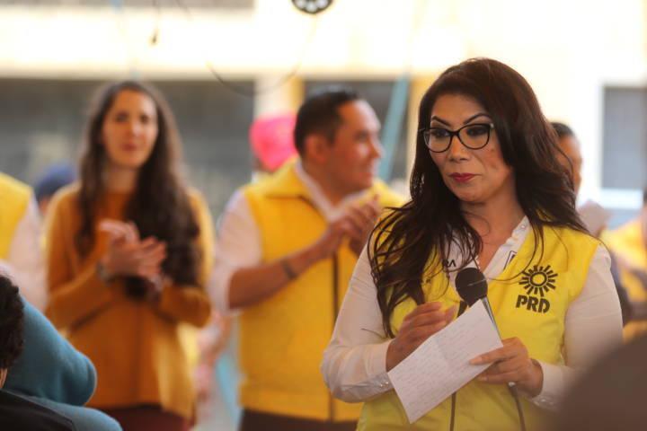 Ya es hora de alzar la voz por Tlaxcala en el Congreso federal: Alejandra Ramírez