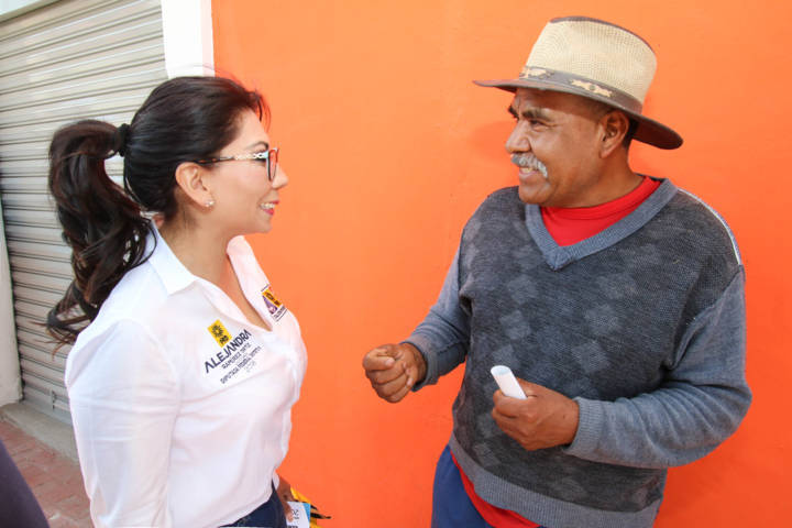 Si daremos respuesta inmediata a necesidades sociales del Distrito II: Alejandra Ramírez