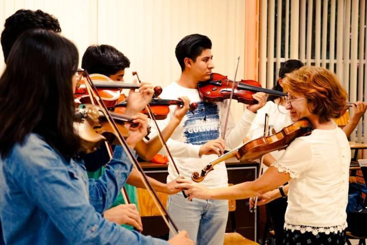 """Participan 200 estudiantes de música tlaxcaltecas en el """"Festival Sinfónico 500 Años"""""""