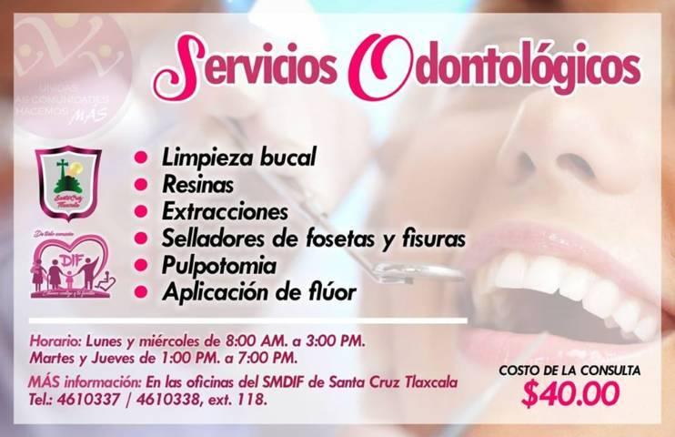 El DIF municipal brinda servicios odontológicos a grupos vulnerables
