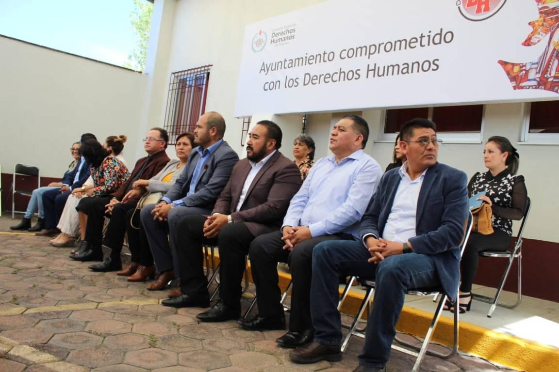 Apetatitlan encaminado a la protección de los Derechos Humanos